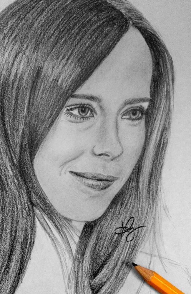 Ellen Page by wallocke